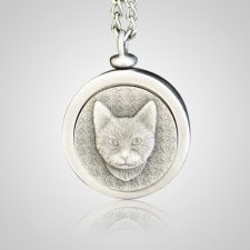 Kitty Pet Memory Keychain