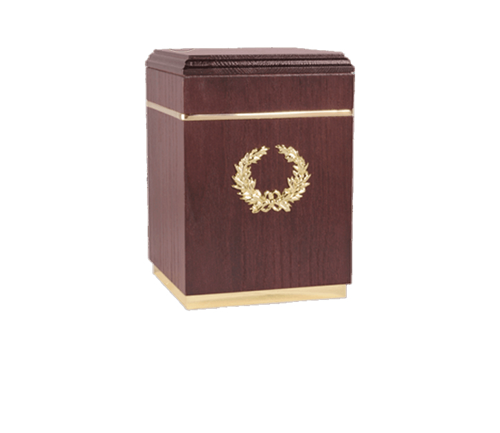 Kizhi Bourbon Cremation Urn
