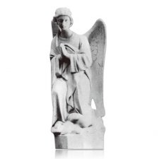 Kneeling Angel Right Marble Statues