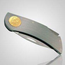 Pet Knife Print 14k Yellow Gold Keepsakes