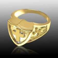 Knight Cremation Ring IV