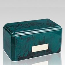 Knoll Green Marble Cremation Urn