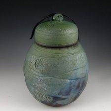 Knoll Raku Cremation Urn