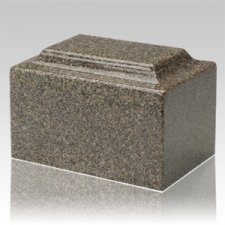Kodiak Brown Granite Keepsake Cremation Urn