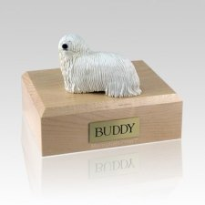 Komondor Large Dog Urns
