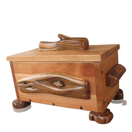 Zander Juniper Wood Urn