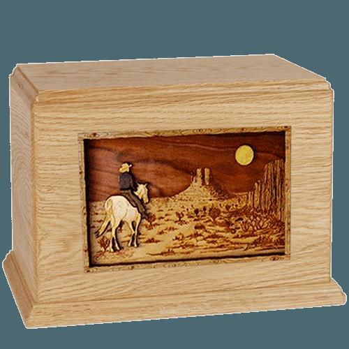 Last Ride Maple Companion Urn