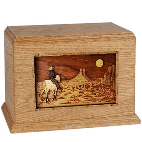 Last Ride Oak Companion Urn