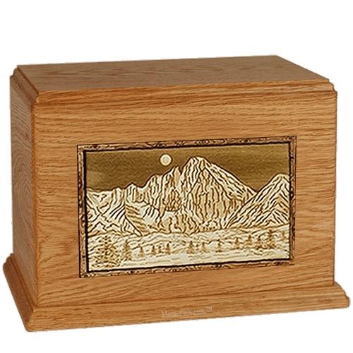 Longs Peak Mahogany Companion Urn