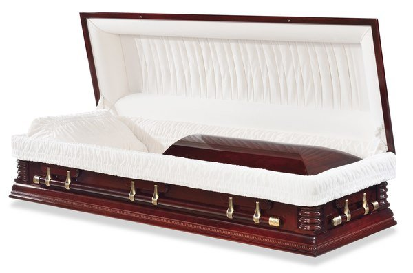Louisburg Cherry Wood Casket