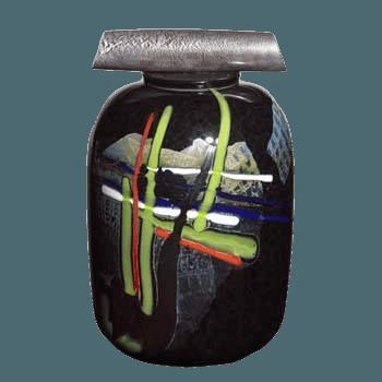 La Jolla Abstract Cremation Urn