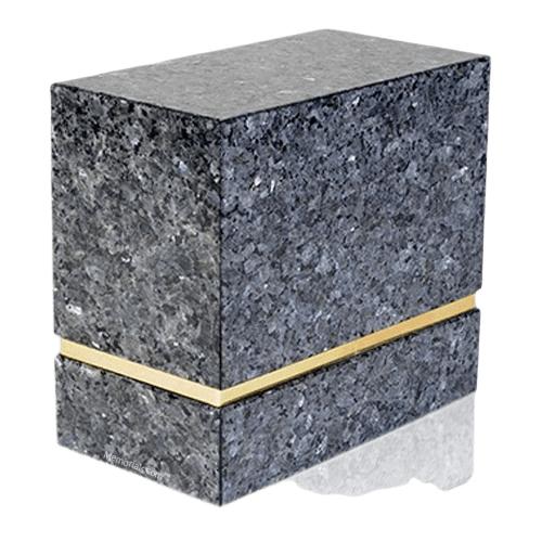 La Nostra Blue Pearl Granite Companion Urn