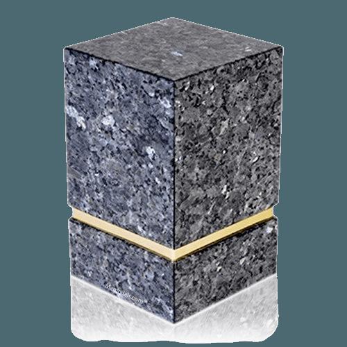 La Nostra Blue Pearl Granite Urn