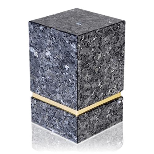 La Nostra Blue Pearl Granite Cremation Urns