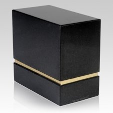 La Nostra Nero Absoluto Granite Companion Urn