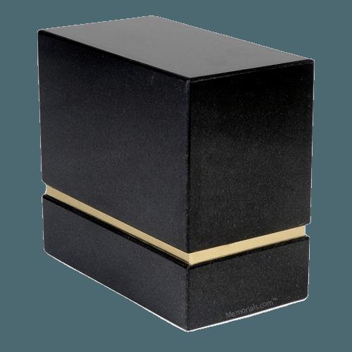 La Nostra Nero Absoluto Granite Companion Urn