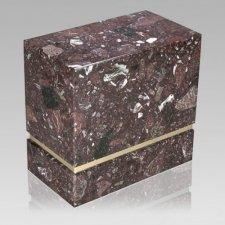 La Nostra Rosso Levanto Marble Companion Urn