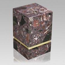 La Nostra Rosso Levanto Marble Urn