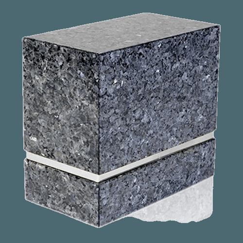 La Nostra Silver Blue Pearl Companion Urn