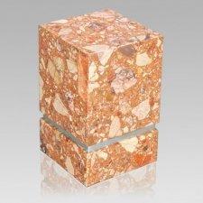 La Nostra Silver Breccia Marble Urn