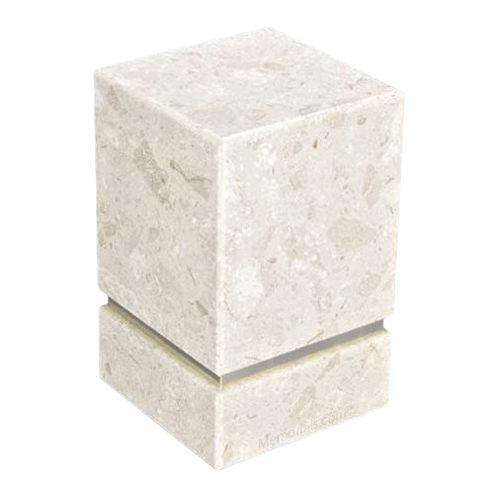 La Nostra Silver Perlato Marble Urn