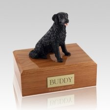Labrador Black Long-haired Dog Urns