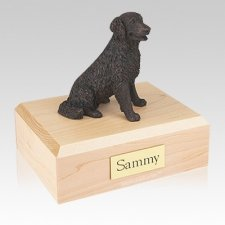 Labrador Bronze Long-haired Large Dog Urn