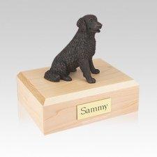 Labrador Bronze Long-haired Medium Dog Urn