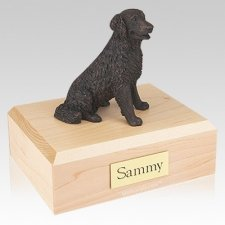 Labrador Bronze Long-haired X Large Dog Urn