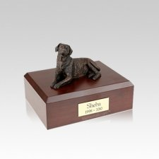 Labrador Bronze Small Dog Urn
