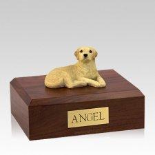 Labrador Yellow Setting Large Dog Urn