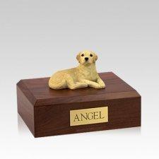 Labrador Yellow Setting Medium Dog Urn