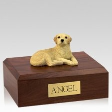 Labrador Yellow Setting Dog Urns