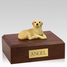 Labrador Yellow Setting X Large Dog Urn