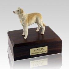 Labrador Yellow Standing X Large Dog Urn