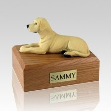 Labrador Yellow Dog Urns