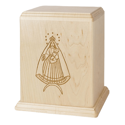 Lady of Cobre Cremation Urn