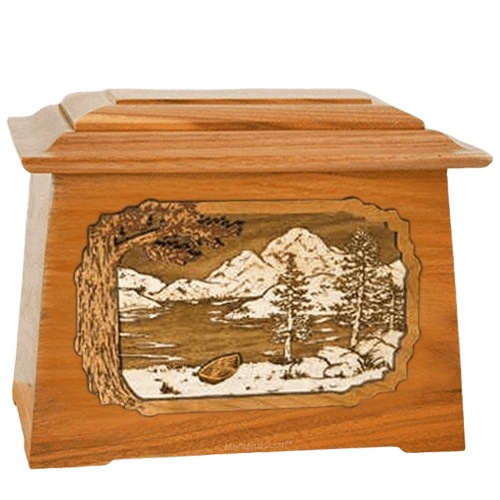 Lakeside Mahogany Aristocrat Cremation Urn