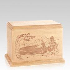 Lakeside Individual Maple Wood Urn
