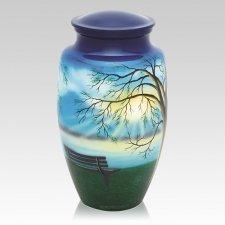 Lakeside Metal Cremation Urn