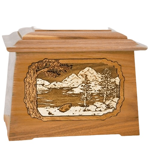 Lakeside Oak Aristocrat Cremation Urn