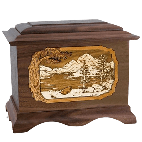 Lakeside Wood Cremation Urns