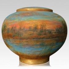 Landscape Cremation Urn