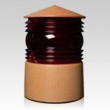 Lantern Wood Cremation Urn