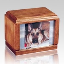 Hardwood Large Pet Wood Urn