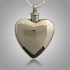 Large Pet Heart Cremation Pendant