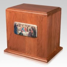 Last Supper Cremation Companion Urn