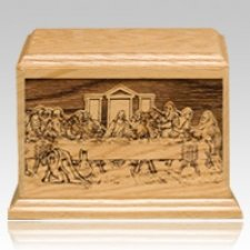 Last Supper Keepsake Cremation Urn