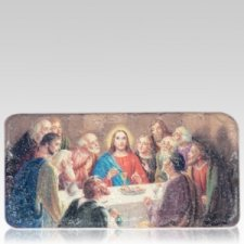 Last Supper Medallion Applique
