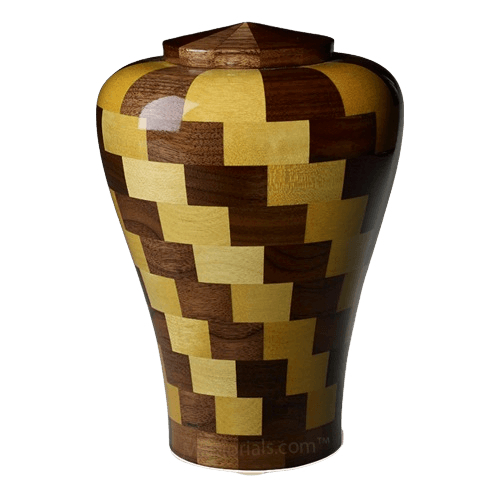 Latida Large Wood Urn